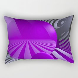 3D - abstraction -110- Rectangular Pillow