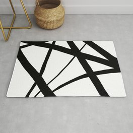 A Harmony of Lines and Shapes Rug