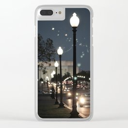 Arlington Memorial Bridge Clear iPhone Case