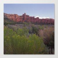 utah Canvas Prints featuring Utah  by Dylan Shippee