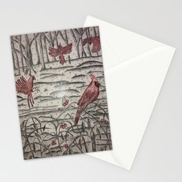 Kentucky Winter Stationery Cards