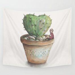 Protected Heart Wall Tapestry