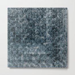 Ink Stitch: Aquamarine (dark) Metal Print