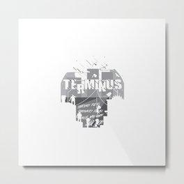 Terminus Metal Print