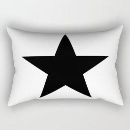 black star digital art work designer label zollion store Rectangular Pillow
