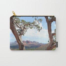 Arizona Horizon - Sedona Red Rocks Carry-All Pouch