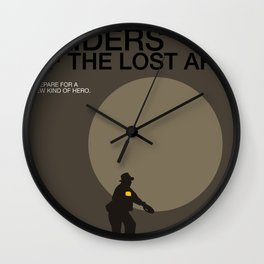 Raiders of the Lost Ark Wall Clock