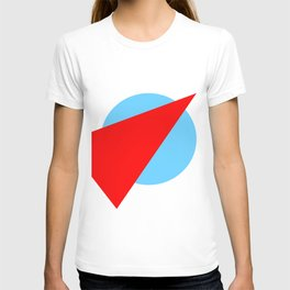 Compass: Blue and Red T-shirt
