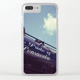 Pensacola Railroad Clear iPhone Case