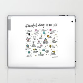 Stressful Day To-Do List Laptop & iPad Skin