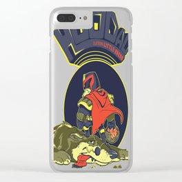Lil' Dredd Riding Hood Clear iPhone Case
