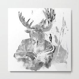 Jazz Musician Metal Print