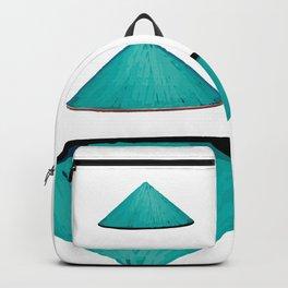 Non la Vietnamese Conical Leaf Hat Backpack