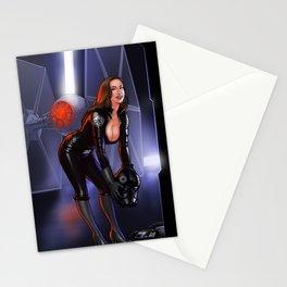 Tie-Fightin' Gal Stationery Cards