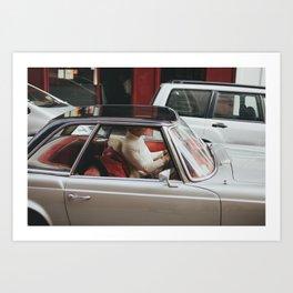 Mystery Man / Paris Art Print