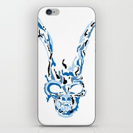 Donnie Darko Frank(Blue & Black) iPhone Skin