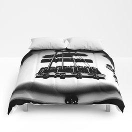 Bass Lines Comforters