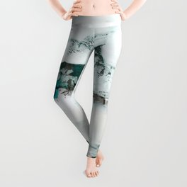 Blissful Illusions No.2g by Kathy Morton Stanion Leggings