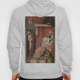 Hieronymus Bosch - Death And The Miser. Hoody