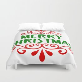 Merry Christmas Duvet Cover