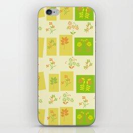 Midcentury Floral Pattern iPhone Skin