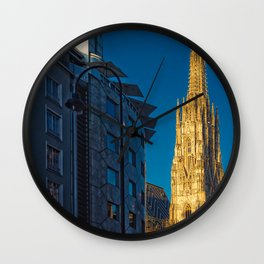 Stephen's Cathedral - Vienna city center Wall Clock