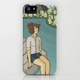 Lake Time iPhone Case