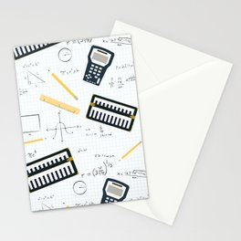 Math Stationery Cards