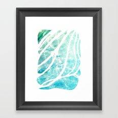 The See-Thru Sea Framed Art Print
