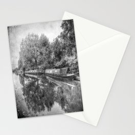 Narrow Boats Little Venice Vintage Stationery Cards