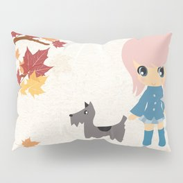 Fall-ow your Dog Pillow Sham