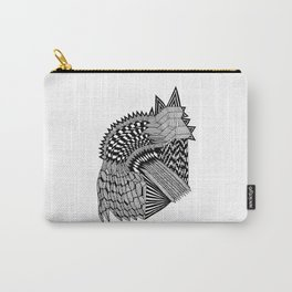 Hidden Cat Abstract Carry-All Pouch