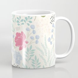 Ella Floral Pattern Coffee Mug