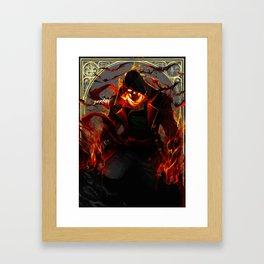 MAXIMUM DRACULA Framed Art Print