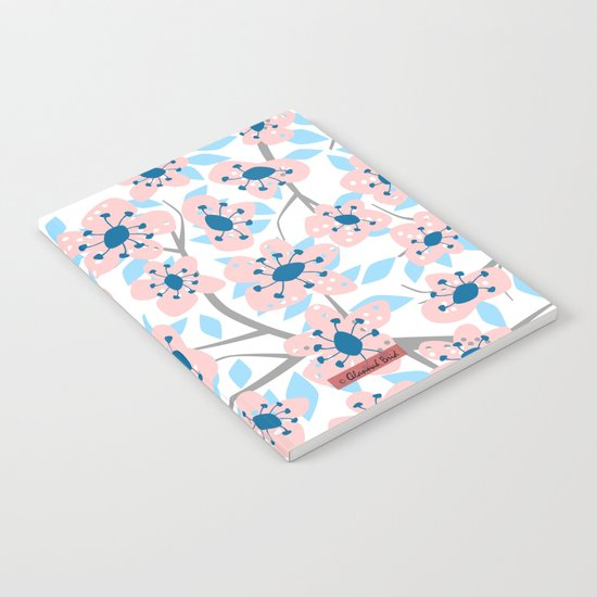 White Blossoms Notebook