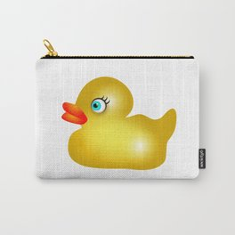 Yellow Rubber Duck Carry-All Pouch