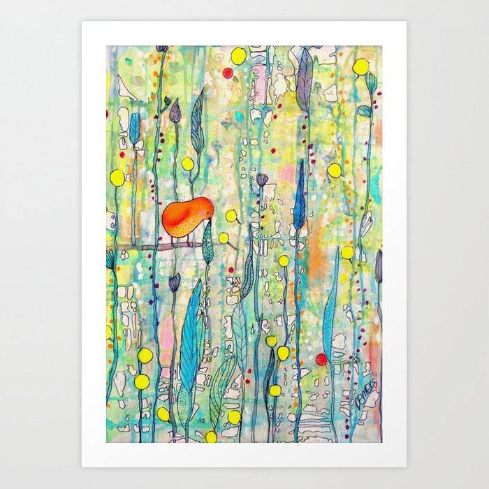 grandir Art Print