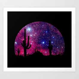 Noche caliente Art Print