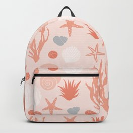 In the Sea - coral Backpack