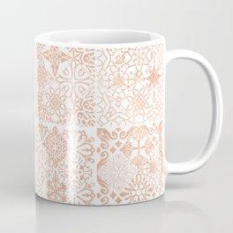 MOROCCAN TILES ROSEGOLD Coffee Mug