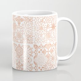 MOROCCAN TILES ROSEGOLD Coffee Mug