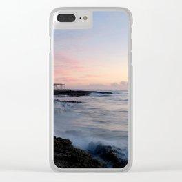 Akumal Mexico Clear iPhone Case