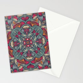Colorful Mandala Pattern 014 Stationery Cards