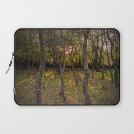 Forest, sunset, art photography at the bulgarian village Lisicite Laptop Sleeve