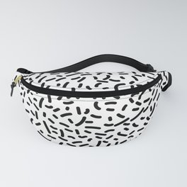 Memphis Candy B&W Fanny Pack