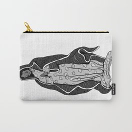 Our Lady of Guadalupe (B&W) Carry-All Pouch