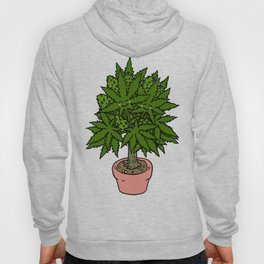 Blushing Cannabis Hoody