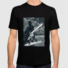 Trying To Make Sense Of It All Mens Fitted Tee Black MEDIUM