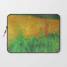 Barbed Wire Poppies Laptop Sleeve