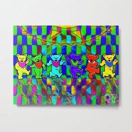 Dancing Bears #2 Metal Print